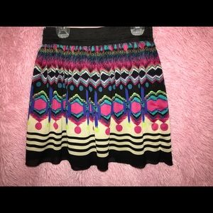Dresses & Skirts - Cute colorful skater skirt